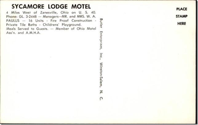 sycamorelodgepostcardback