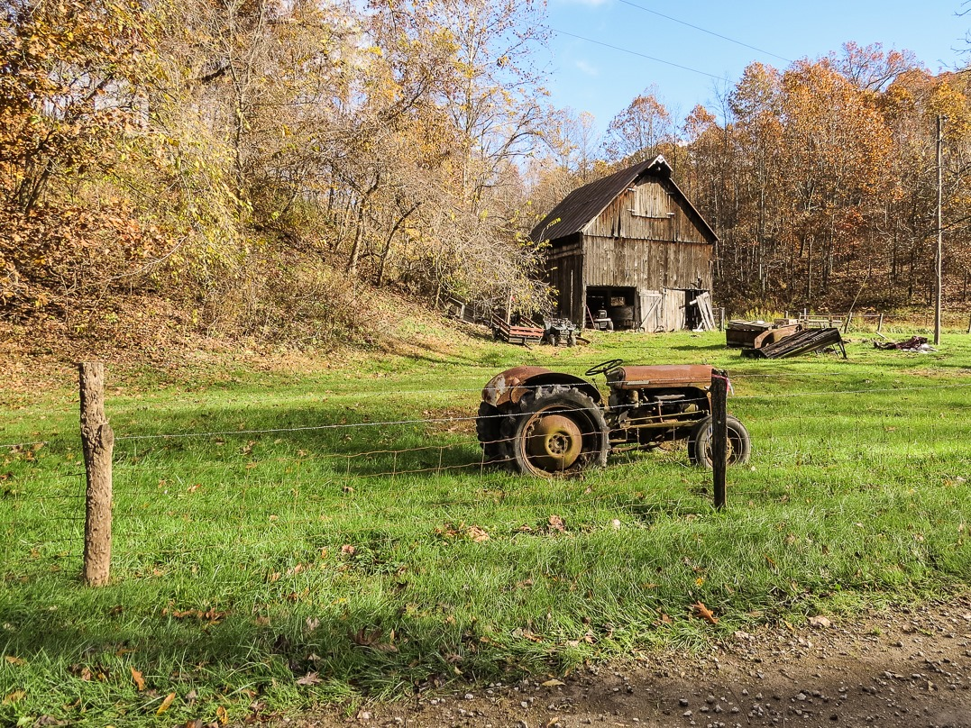 Antique Tractors In Ohio : Excursion part far from the madding crowd